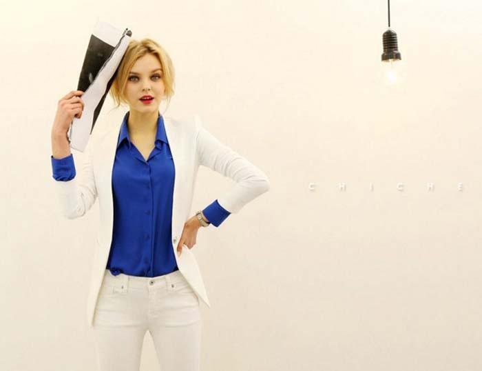 1PC Women Chiffon Blouse Long Sleeve Shirt Women Tops Office Lady Blusas Femininas Camisas Mujer Z231 11