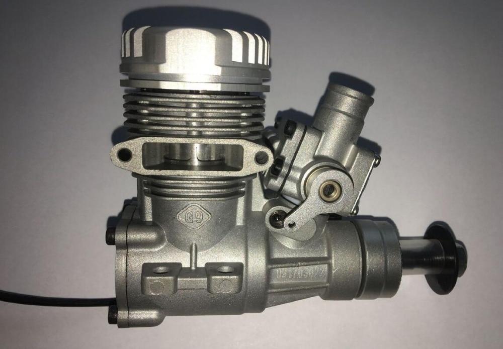 NGH GT9 Pro GT09 9CC motor de gasolina/gasolina de 2 tiempos para aeroplano modelo RC-in Partes y accesorios from Juguetes y pasatiempos    2