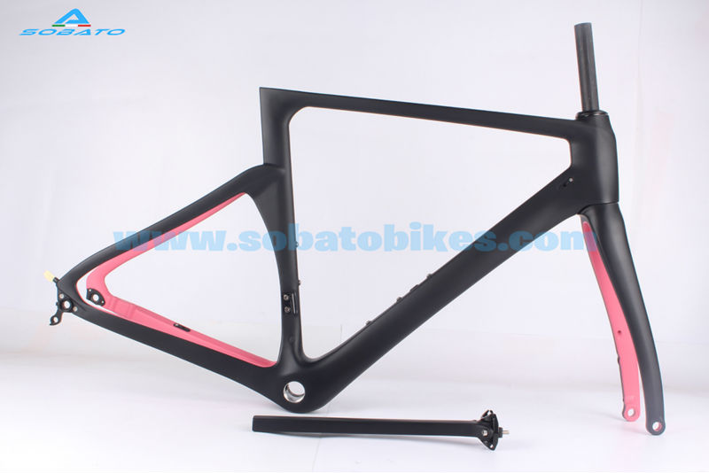 Sobato New Carbon Time Trial Frame with Fork Seat Post Aero TT Aero Carbon Time Trial Frame цена