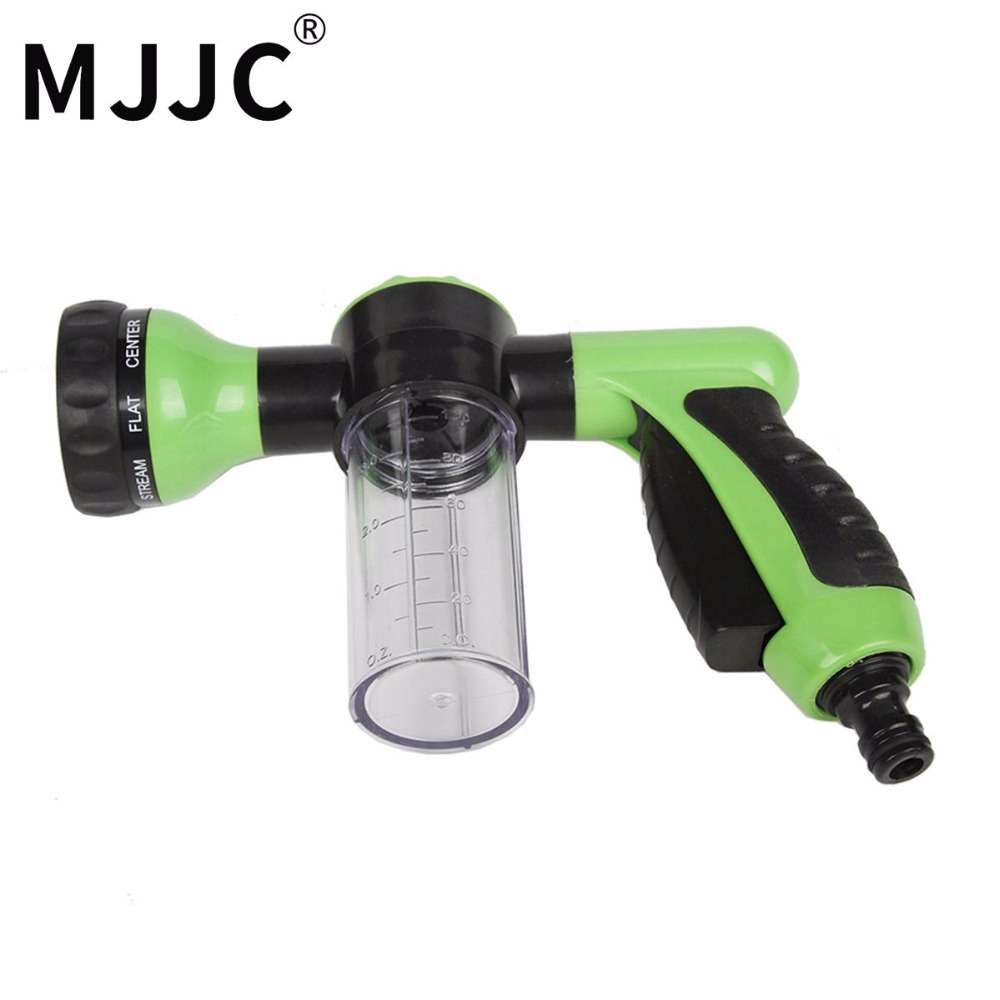 MJJC Brand 2017 New Design Low Pressure Water Hose Foam Gun, garden hose foam lance for both car pre washing and garden mjjc brand foam lance for karcher 5 units package free shipping 2017 with high quality automobiles accessory