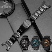 Stainless steel band for casio g shock G 1000/GW 2000/GW 3000B/GW 3500B watchband black watch strap