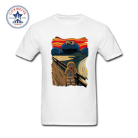 2017 Various Colors Funny Cotton Cookie Monster Funny T Shirt For Men