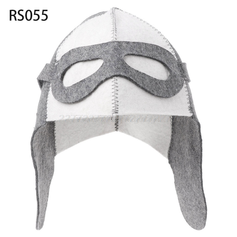 Wool Felt Sauna Hat Anti Heat Russian Banya Cap For Bath House Head Protection Sauna Hat Mr26 19 Dropship|Shower Caps|   - title=