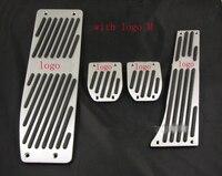 Aluminum Foot Rest Pedals Set Fit For BMW E30 E36 E46 E87 E90 E91 E92 E93