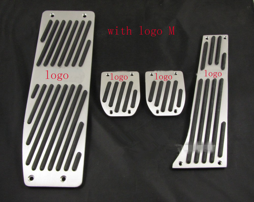 XYIVYG Aluminum  Foot Rest Pedals Set Fit for BMW E30 E36 E46 E87 E90 E91 E92 E93 M3 M Tech MT Silver  Color раскладушка therm a rest therm a rest luxurylite mesh xl
