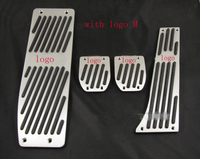 Aluminum Foot Rest Pedals Set Fit For BMW E30 E36 E46 E87 E90 E91 E92 E93