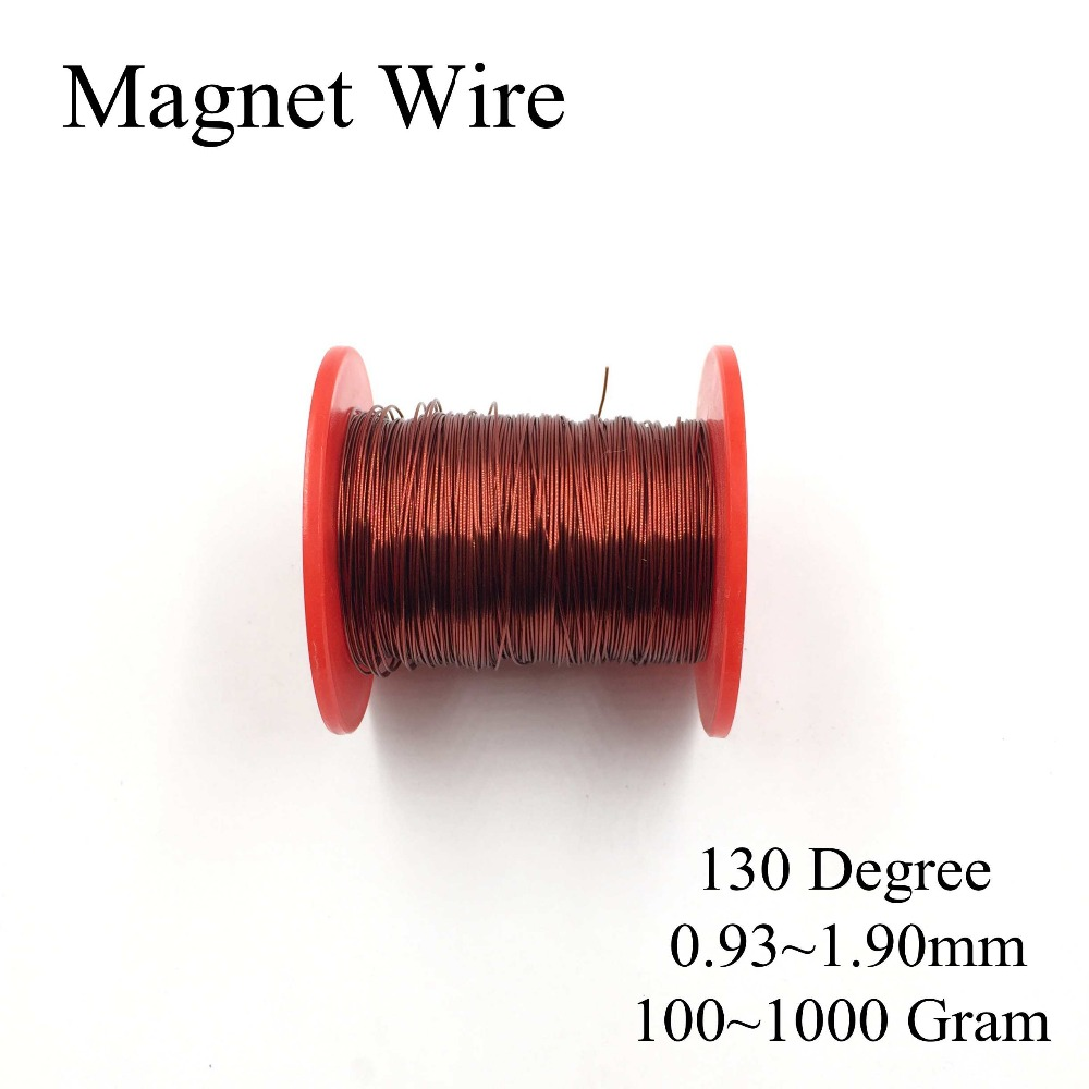 0.13MM~2.50MM many size 100gram/roll Polyester Enameled Copper wire ...