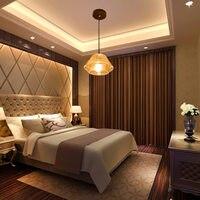 Clear Glass Pendant Lights Dining Room Modern Lamps Fixtures Length Adjustabe Ledining Hanging Lamp 110V 250V
