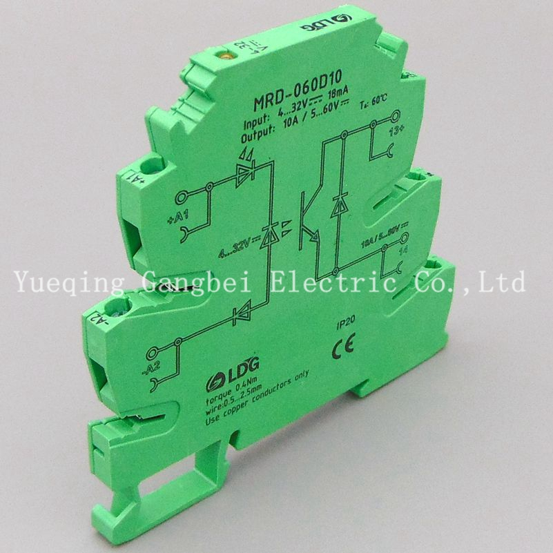 MRD-060D10 PLC relay output amplifier board relay module ultra-thin relay module ac 0 250v 16 channel relay module silicon controlled plc output amplifier board