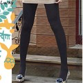 New Fashion Winter Slim Fleece Tights Warmers Solid color Women