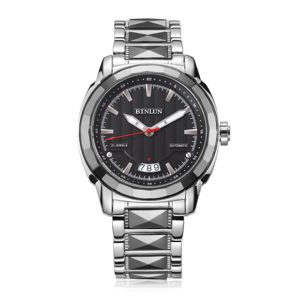 Automatische USD Horloge Zwart 10