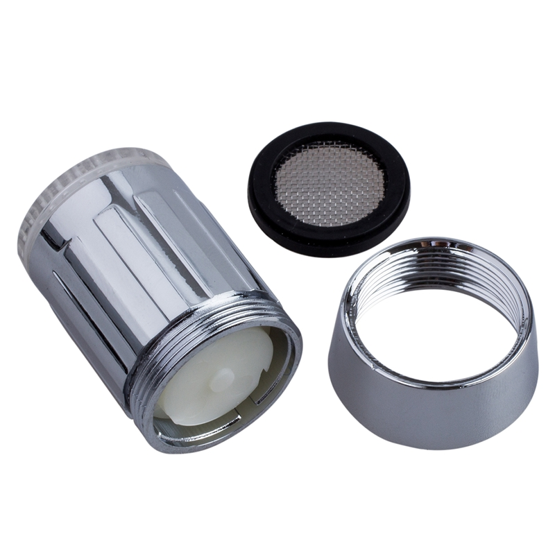 New 3-color Water Glow LED Faucet Light Temperature Sensor