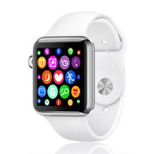 Iwo 1:1 smart watch w51 ip65กันน้ำบลูทูธไร้สายชาร์จคริสตัลแซฟไฟร์werableอุปกรณ์pkฉบับที่1 d5นาฬิกาapple