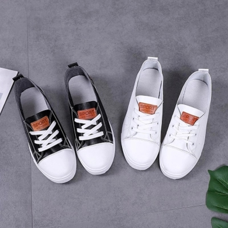 Small white shoes summer female 2018 new wild students flat bottom shallow mouth casual breathable shoes white shoes 2015 summer shallow mouth of canvas shoes women shoes a pedal lazy shoes casual flat white shoes korean wave shoes