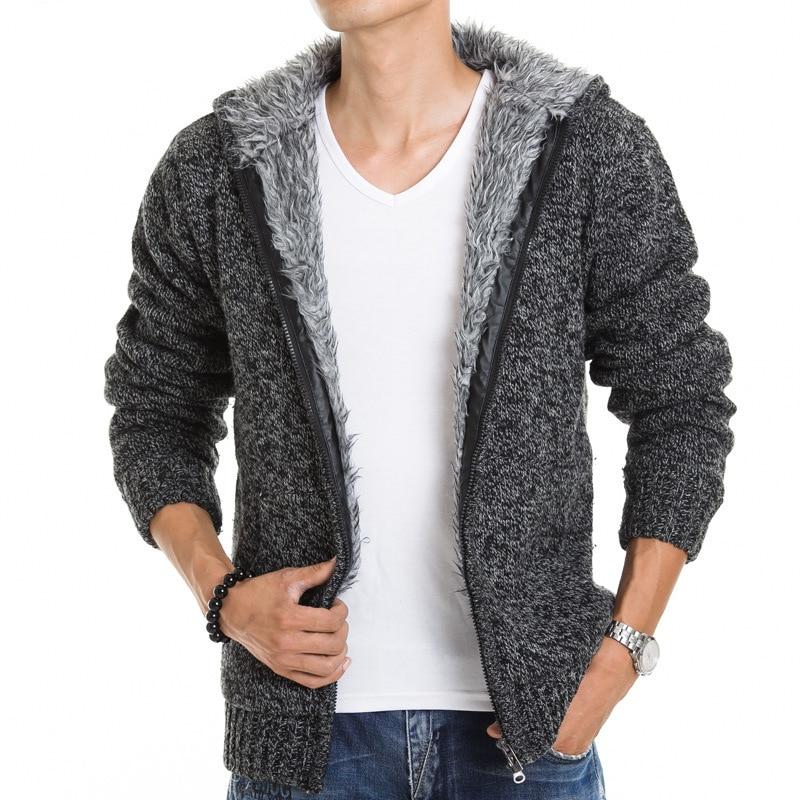 Grey Cardigan Mens Fashion