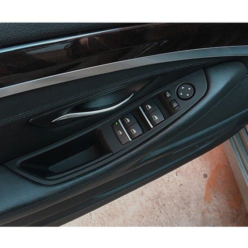 BMW F10 528i 550i FRONT DOOR PULL DRIVER HANDLE LEFT TRIM GENUINE OEM BEIGE NEW