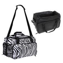Bolsa de herramientas de peluquería profesional, bolsa de hombro de gran capacidad para peluquería, suministros cosméticos, accesorios, bolso