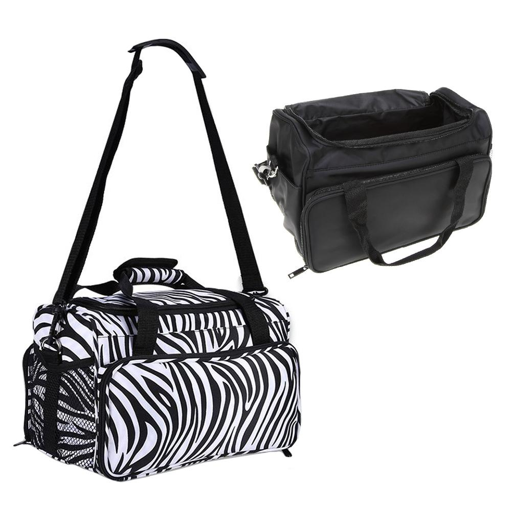 Professional Hairdressing Tool Bag Salon Hair Tools Shoulder Bag Large Capacity Hair Stylist Cosmetic Supplies Accessory Handbag-in Styling Accessories from Beauty & Health