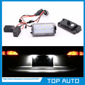 Super Bright 2X18MD Canbus LED License Plate Light For 99-05 Seat Leon 1M 04-09 Altea Arosa Cordoba MK1 MK2 Ibiza Toledo 5P