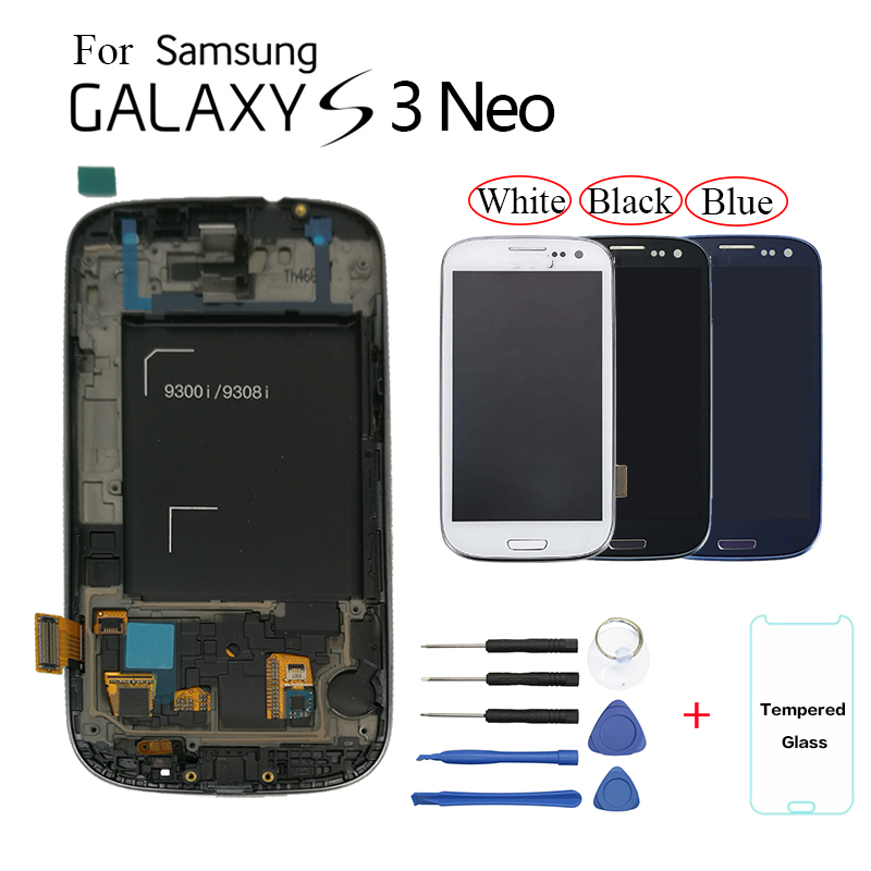 For Samsung Galaxy S3 Neo i9301 i9300i LCD Display Screen replacment whit Frame for Samsung i9308i i9301i display lcd screenFor Samsung Galaxy S3 Neo i9301 i9300i LCD Display Screen replacment whit Frame for Samsung i9308i i9301i display lcd screen