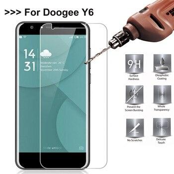 9 H 2.5D 0.26 мм Закаленное стекло протектор для Doogee Y6 светодиодный экран закаленное защитная пленка Чехол Для Doogee Y6