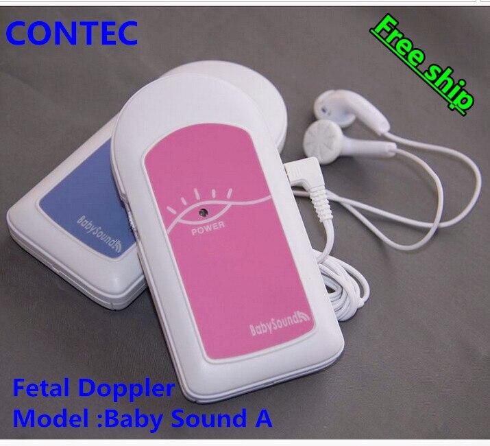 Clearance Sale Baby Heart Monitor AngelSounds Fetal Doppler Pocket Prenatal Fetal Baby Heart Rate Detector+ Free Gel