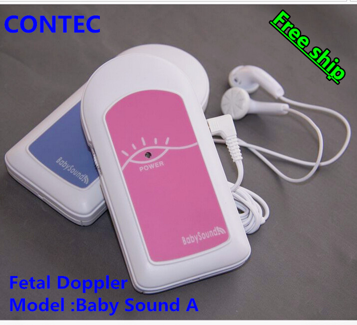 LCD Baby//Bébé foetal doppler foetal Moniteur de fréquence cardiaque Enregistreur sonore Gel USA