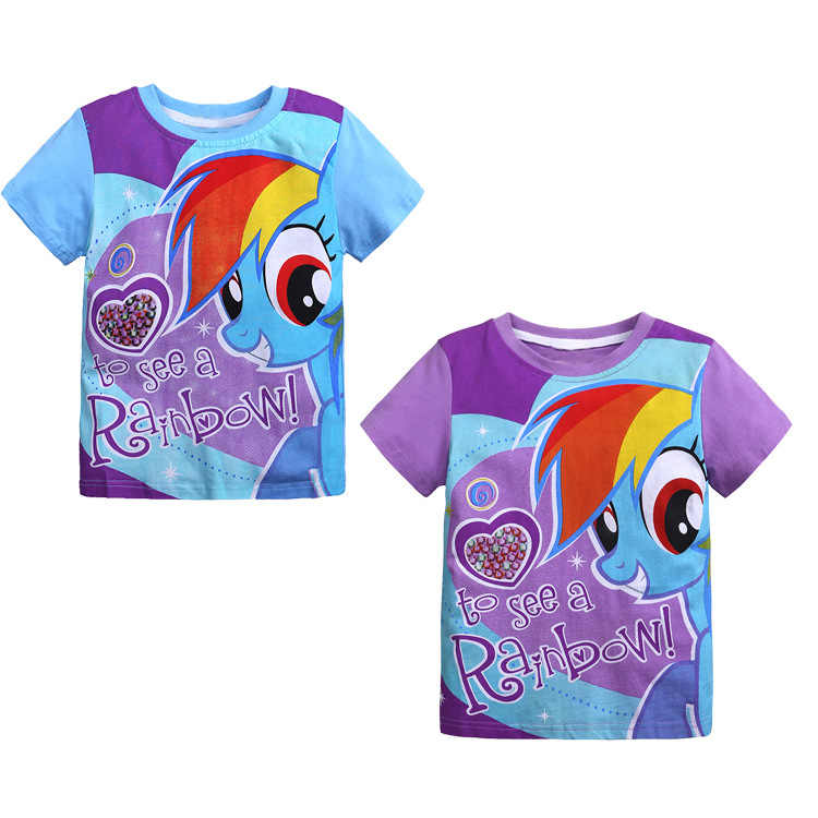 OUTBENE Cartoon Children's Wear Summer T-shirt Cotton Short Sleeve Girl T-shirt Wholesale  big brother little brother  Fashion