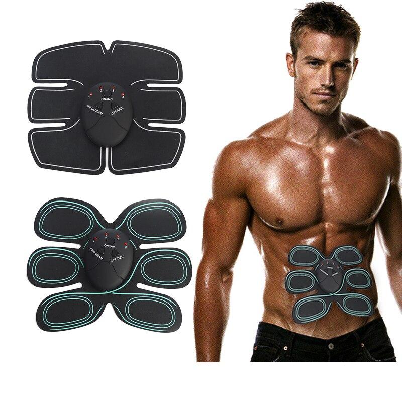 Körper Former Maschine ZEHN Elektronischen Bauch Fitness Zubehör EMS Drahtlose Elektrische Muskelstimulator Massage