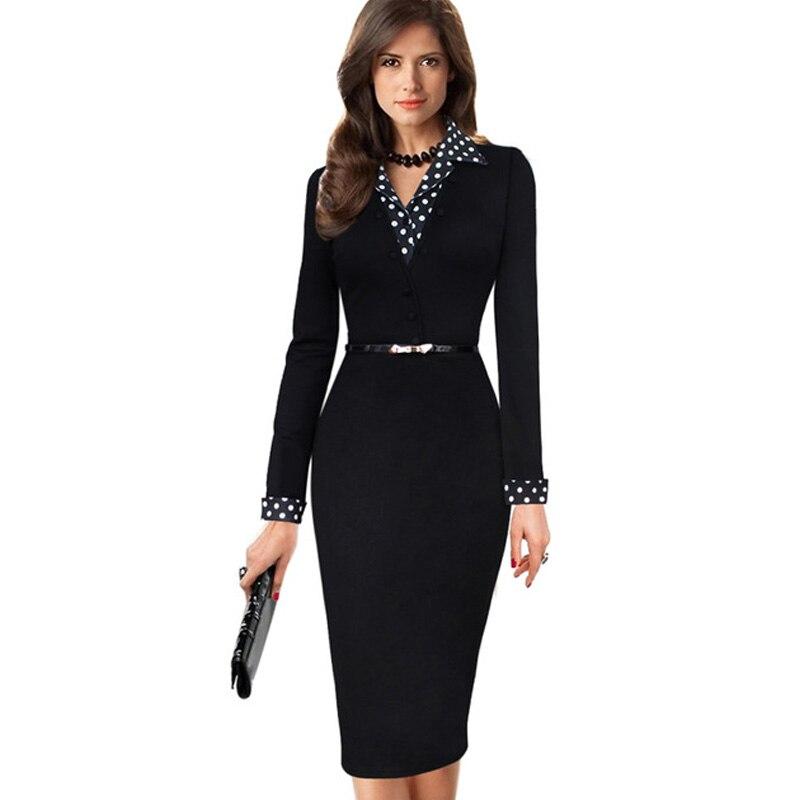 Black dress xl karir