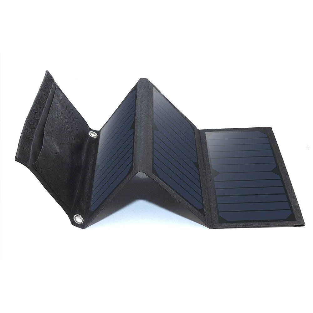 21 Вт Панели солнечные S Портативный складной Водонепроницаемый Панели солнечные Зарядное устройство Запасные Аккумуляторы для телефонов д…