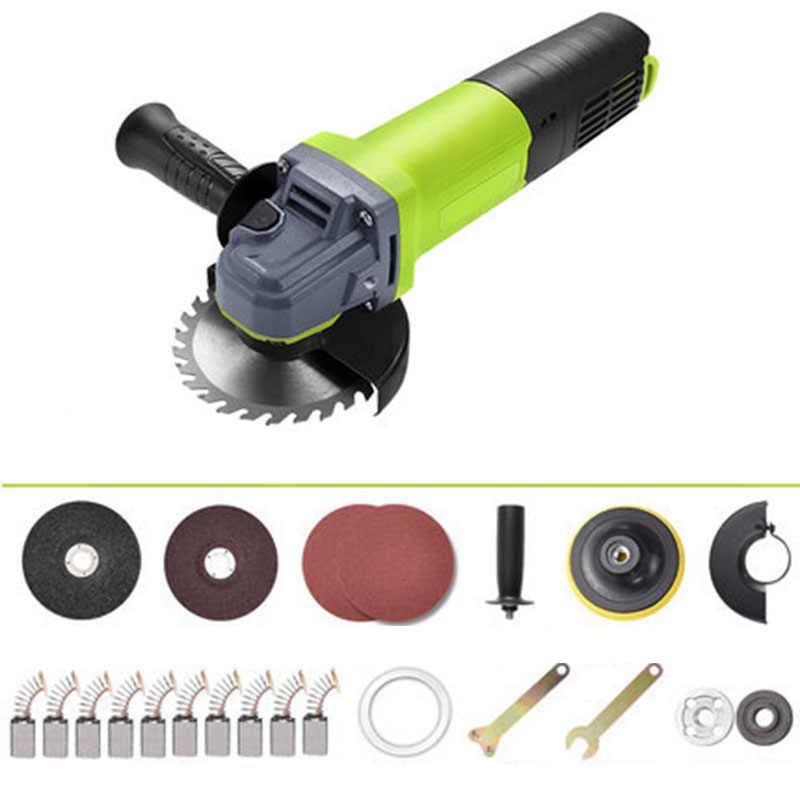1100 w Multi-funzione domestica smerigliatrice angolare lucidatura di taglio angolo di macchina per la frantumazione smerigliatrice a mano rettifica ruota power tools