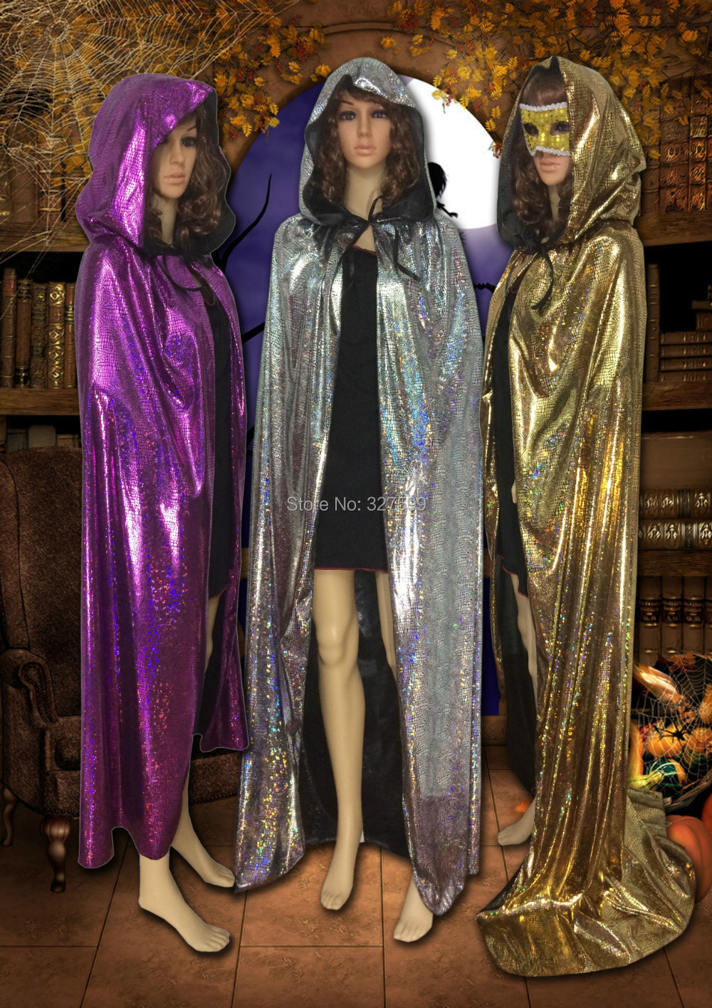 Aliexpress.com : Buy Wholesale Colorful Laser adult hooded cloak ...