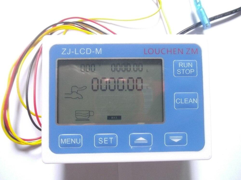 G 2 hüvelykes DN50 áramlási sebességű vízmérő mérő + LCD - Mérőműszerek - Fénykép 3