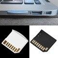 1 pcs Mini Curto SDHC TF Adaptador de Cartão SD Flash Drive para MacBook Air até 64G Preto Branco frete Grátis