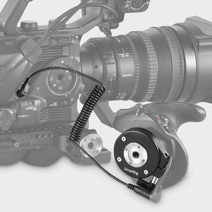 Image 4 - SmallRig For Sony FS5 Handgrip Adapter with ARRI Rosette+2.5mm LANC Extension Cable For Extension Arm Quick Release Mount   2192
