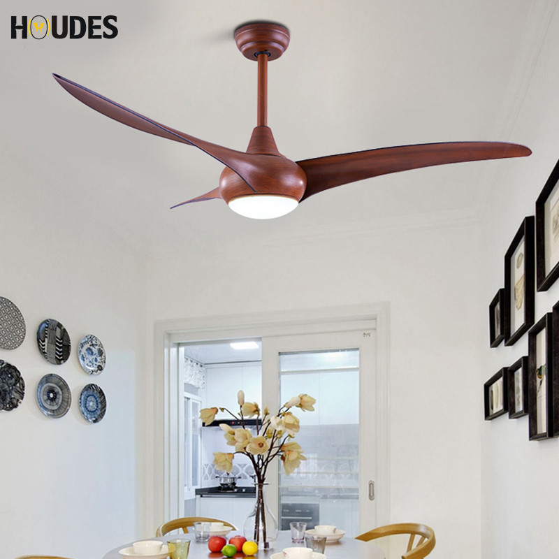 Modern 52 inch LED DC 12w country ceiling fan with light dining room living room bedroom ceiling fan with remote control light led ceiling fan modern 42 inch fan dining room led chandelier european antique living room fan with led lighting