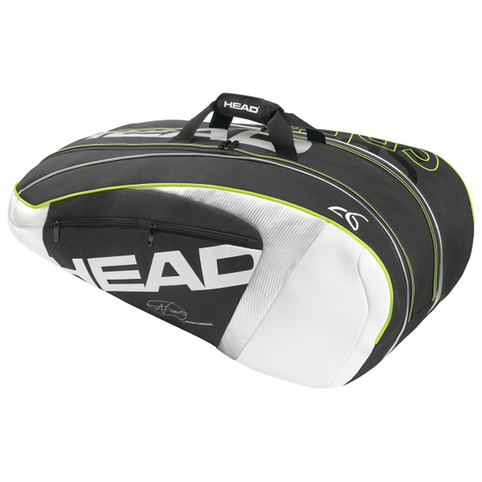 Tennis Racket Bag Head Sport Bags For 6-9 Racquete Men Women Handbag Carry Bag With Djokovic Signature