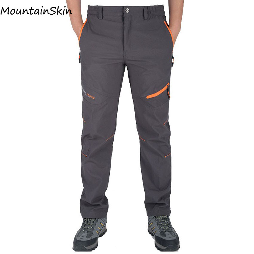 Mountainskin Summer Pants Male Trousers Man Sweatpants