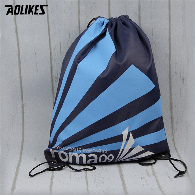 2018 Outdoor Hiking Camping Backpack Draw String Smile Cartoon Print Bag Men Male Backpack For Student Bags
