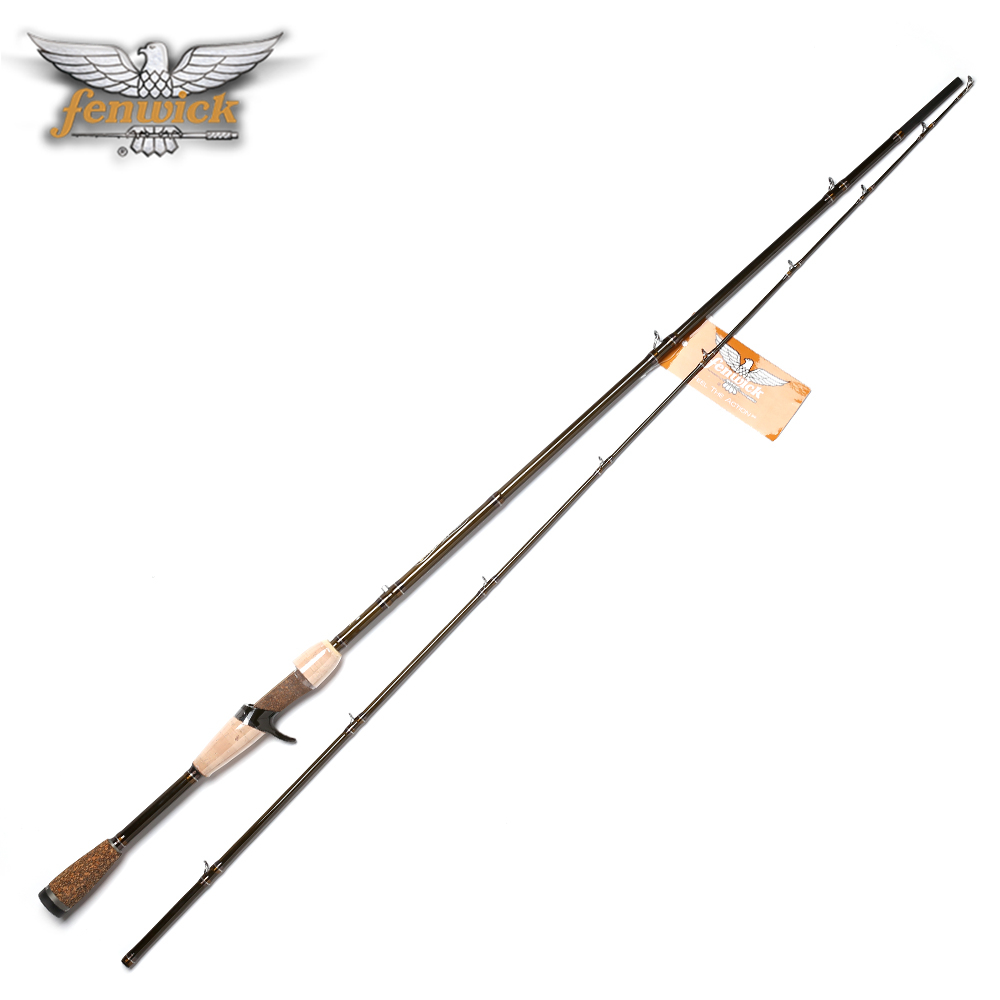 Fenwick brand ec672mh high carbon casting lure fishing rod for Fishing pole brands