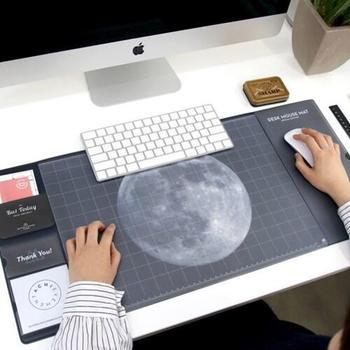 Cool univers motif en plastique bureau souris tapis école fournitures de bureau cadeau créatif
