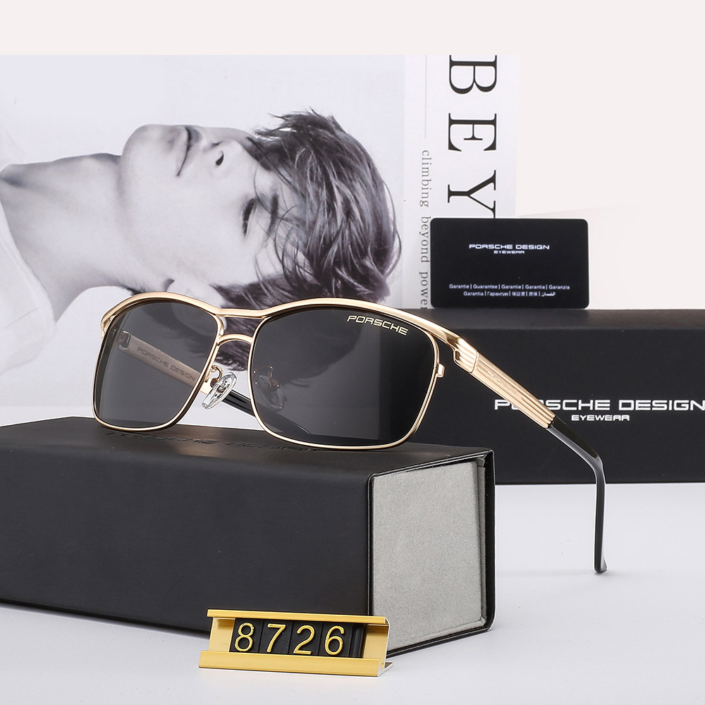 Police Sunglasses Polarized Driving Fashion Outdoor Glasses Eyewear Men/'s P8480