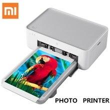 원래 xiao mi 액세서리 mi jia mi 사진 프린터 열 승화 미세하게 진정한 색상 자동 필름 긴 무선 원격 복원