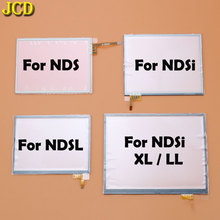 JCD หน้าจอสัมผัสจอแสดงผล Digitizer สำหรับ Nintendo DS Lite NDSL NDS NDSi XL LL คอนโซลเกมเลนส์