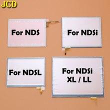 JCD Touch Display del Pannello Dello Schermo Digitizer Per Nintend DS Lite NDSL NDS NDSi XL LL Console di Gioco Dello Schermo Lente
