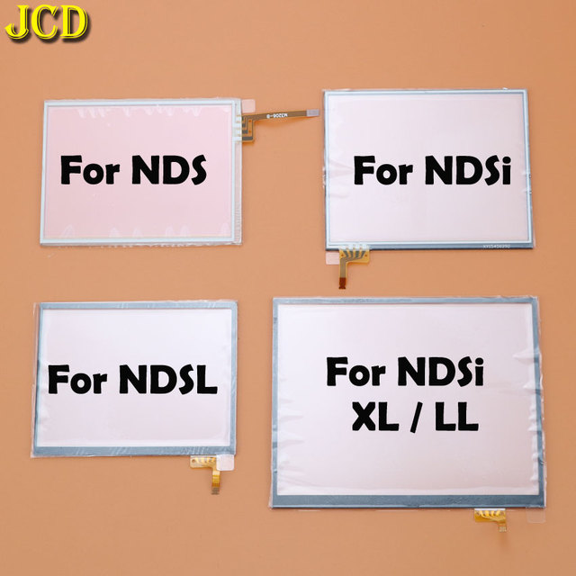 JCD Touch Screen Panel Display Digitizer For Nintend DS Lite NDSL NDS NDSi XL LL Console Game Lens Screen