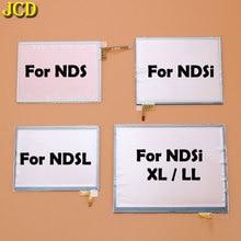 شاشة عرض لوحة اللمس JCD محول رقمي للوحة ألعاب نينتندو d DS Lite NDSL NDS NDSi XL LL شاشة عدسة وحدة التحكم