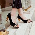 fashion elegant open toe women shoes high heels square Slip-On cozy women's sandals summer shoes women mujer plus size 43