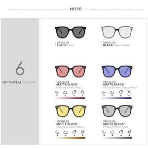 Image 4 - VEITHDIA lunettes de soleil unisexe, verres photochromiques polarisées, Vintage, pour hommes et femmes, V8510